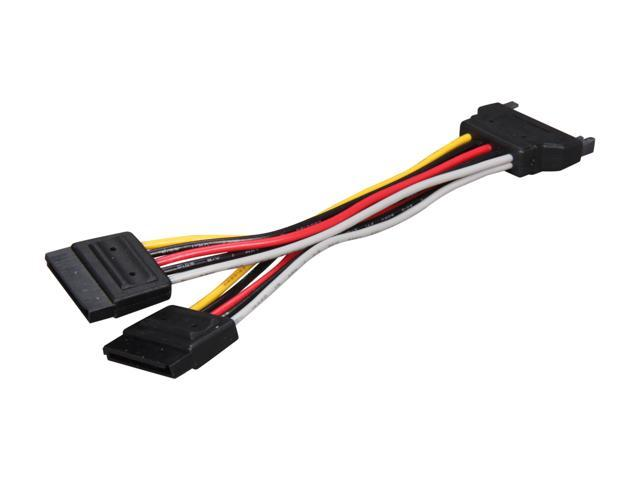 Sata Power Splitter : Startech pyo sata quot power y splitter cable newegg