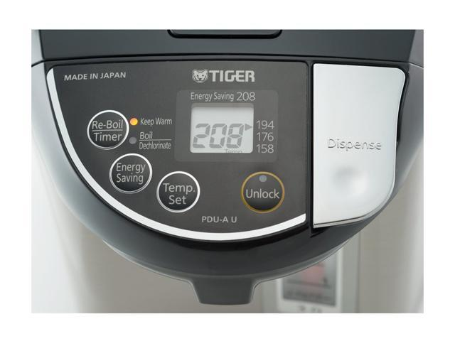 Tiger PDU A30U K Electric Water Boiler and Warmer Stainless Black 3 0 Liter