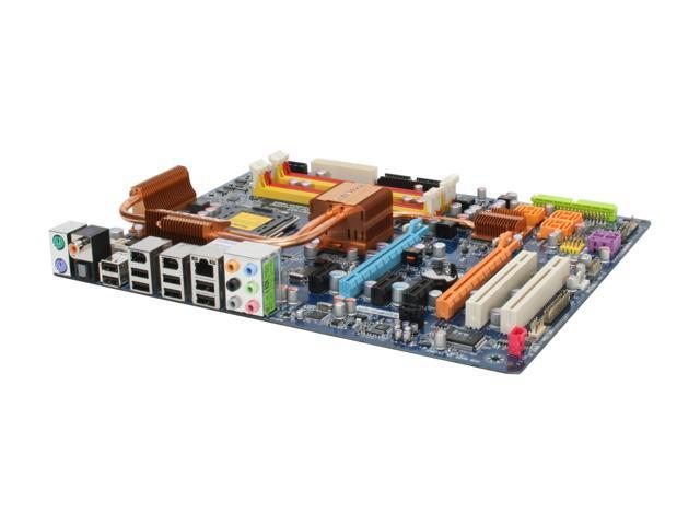 GIGABYTE GA-P35-DS4 Rev. 2.0 LGA 775 Intel P35 ATX Ultra Durable II Intel Motherboard