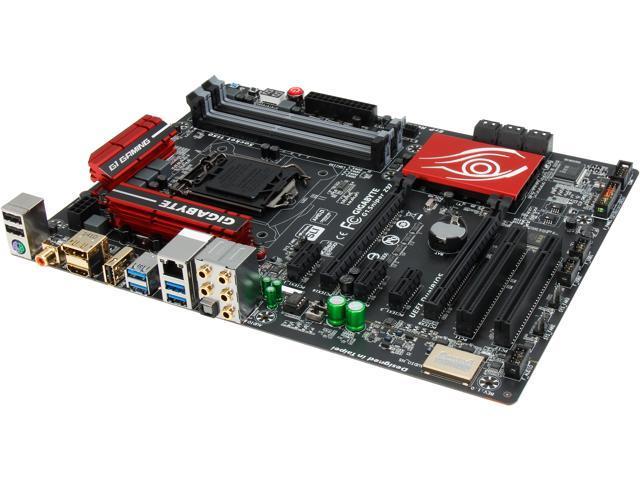 GIGABYTE G1.Sniper Z97 (rev. 1.x) LGA 1150 Intel Z97 HDMI SATA 6Gb/s USB 3.0 ATX Intel Motherboard