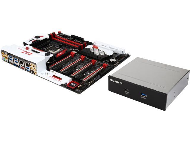 GIGABYTE G1 Gaming GA-Z170X-Gaming G1 (rev. 1.0) LGA 1151 Intel Z170 HDMI SATA 6Gb/s USB 3.1 USB 3.0 Extended ATX Intel Motherboard