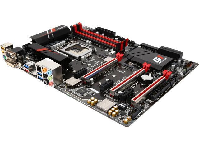 GIGABYTE G1 Gaming GA-Z170X-Gaming 3 (rev. 1.0) LGA 1151 Intel Z170 HDMI SATA 6Gb/s USB 3.1 USB 3.0 ATX Intel Motherboard