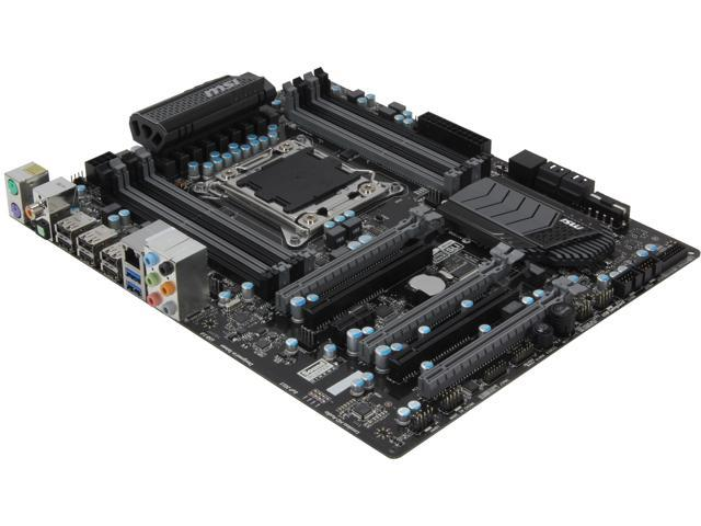 MSI X79A-GD45 Plus ATX Intel Motherboard