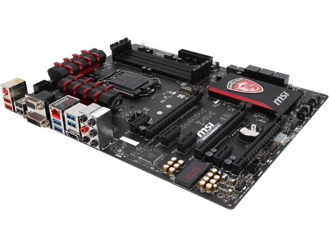MSI MSI Gaming Z97 GAMING 5 LGA 1150 Intel Z97 HDMI SATA 6Gb/s USB 3.0 ATX Intel Motherboard