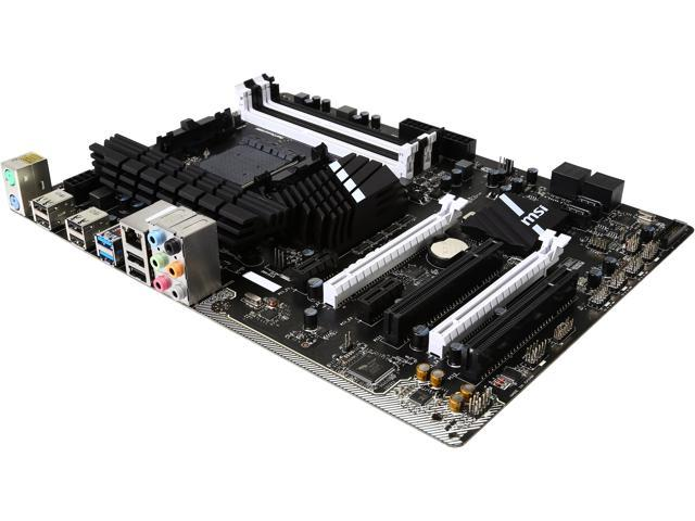 MSI 970A SLI Krait Edition AM3+ AMD 970 & SB950 SATA 6Gb/s 2 x USB 3.1 ATX AMD Motherboard