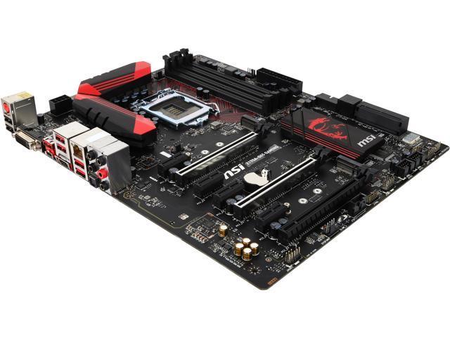 MSI MSI Gaming Z170A-G45 Gaming LGA 1151 Intel Z170 HDMI SATA 6Gb/s USB 3.1 USB 3.0 ATX Intel Motherboard