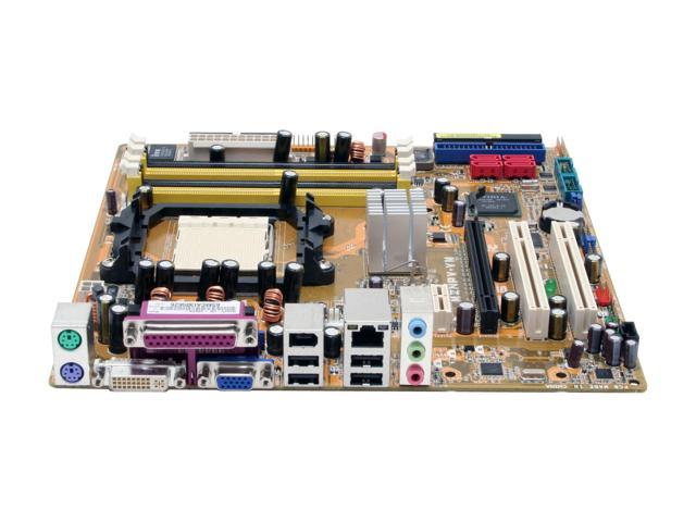 ASUS M2NPV-VM AM2 NVIDIA GeForce 6150 Micro ATX AMD Motherboard
