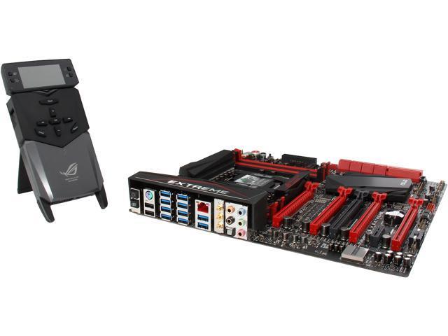 ASUS RAMPAGE V EXTREME LGA 2011-v3 Intel X99 SATA 6Gb/s USB 3.0 Extended ATX Intel Motherboard