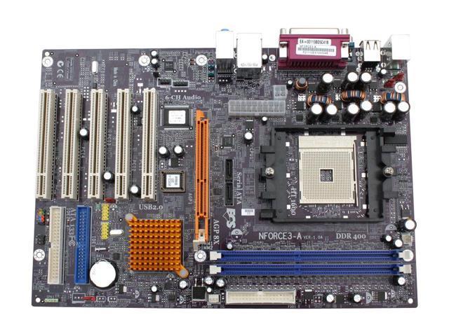 FS: ECS NFORCE3-A Socket 754 NVIDIA nForce3 M/B - S2KI ...