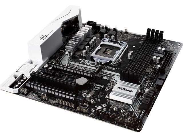 NeweggBusiness - ASRock B250M Pro4 LGA 1151 Intel B250 HDMI SATA 6Gb