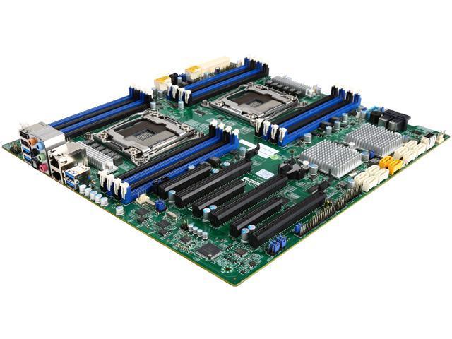 SUPERMICRO MBD-X10DAC-O Extended ATX Xeon Server Motherboard Dual LGA 2011-3 Intel C612 DDR4 SDRAM