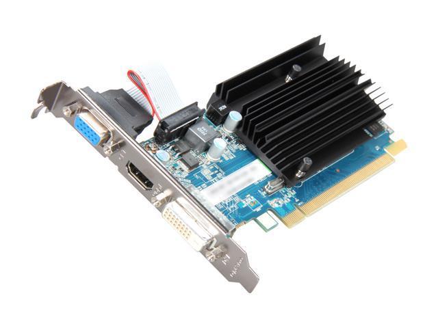 NeweggBusiness - SAPPHIRE Radeon HD 6450 1GB 64-bit DDR3 PCI Express