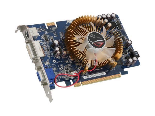 ASUS GeForce 8500 GT DirectX 10 EN8500GT TOP/HTP/256M Video Card