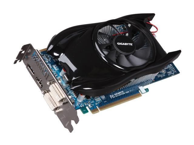 GIGABYTE Radeon HD 5770 DirectX 11 GV-R577UD-1GD 1GB 128-Bit GDDR5 PCI Express 2.0 x16 HDCP Ready CrossFireX Support Video Card