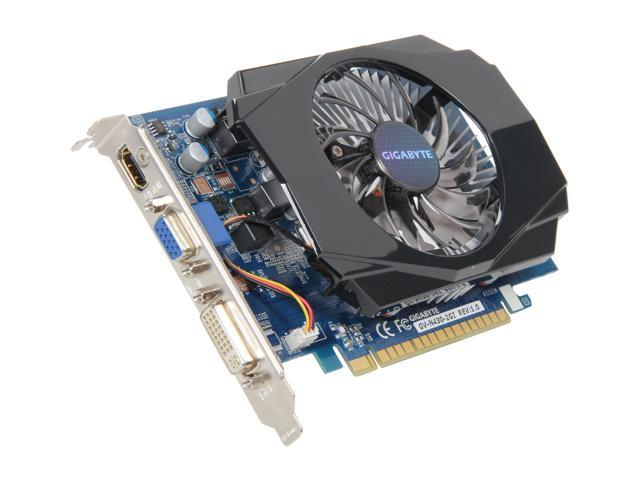 GIGABYTE GeForce GT 430 (Fermi) DirectX 11 GV-N430-2GI Video Card