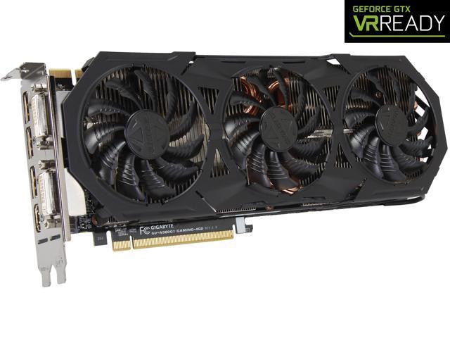 GIGABYTE GeForce GTX 980 4GB G1 GAMING OC EDITION