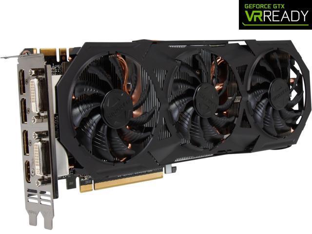 GIGABYTE GeForce GTX 970 4GB G1 GAMING OC EDITION