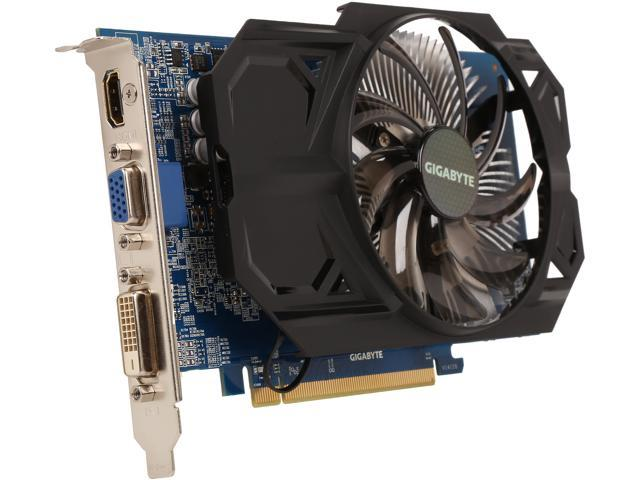 GIGABYTE Ultra Durable 2 Series Radeon R7 250 DirectX 11.1 GV-R725OC-2GI (rev. 4.0) 2GB 128-Bit DDR3 PCI Express 3.0 ATX Video Card