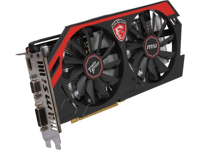 MSI GeForce GTX 750Ti GAMING DirectX 12 N750Ti TF 2GD5/OC 2GB 128-Bit GDDR5 PCI Express 3.0 x16 HDCP Ready Video Card