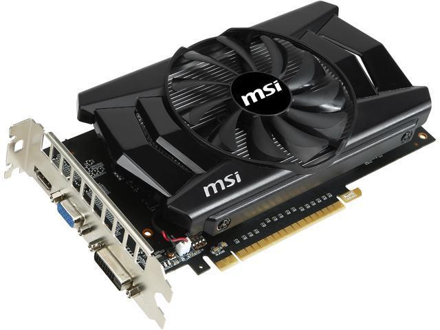 MSI N750TI-2GD5/OC G-SYNC Support GeForce GTX 750 Ti 2GB 128-Bit GDDR5 PCI Express 3.0 Video Card
