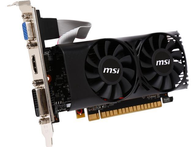MSI GeForce GTX 750 Ti DirectX 11.2 N750ti-2GD5TLP 2GB 128-Bit GDDR5 PCI Express 3.0 x16 HDCP Ready Video Card