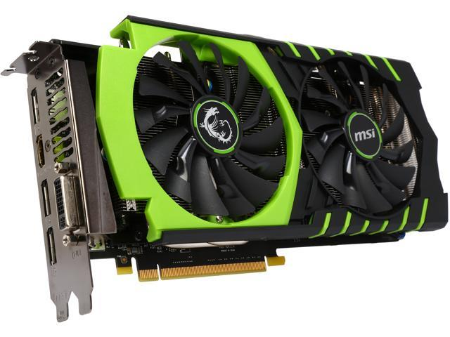 MSI GeForce GTX 960 DirectX 12 GTX 960 GAMING 100ME 2GB 128-Bit GDDR5 PCI Express 3.0 x16 HDCP Ready SLI Support ATX Video Card