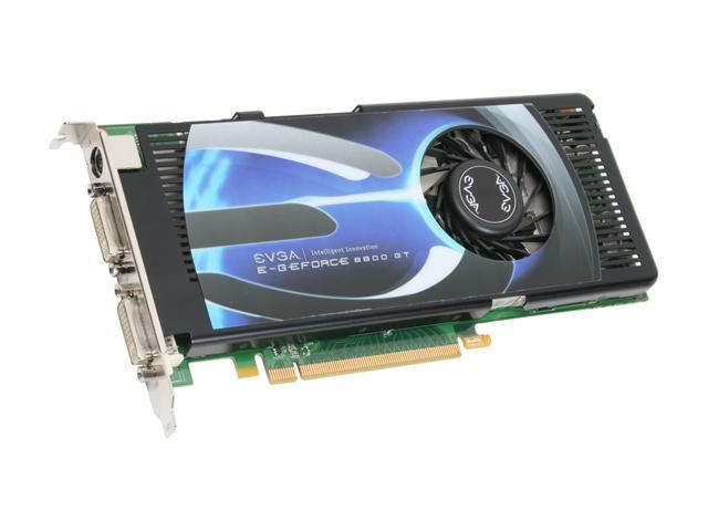 EVGA GeForce 8800 GT DirectX 10 256-P3-N791-AR Video Card
