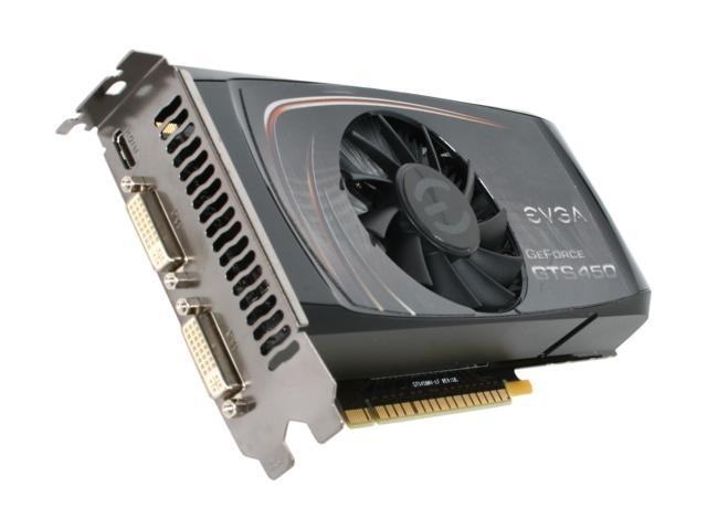 EVGA 01G-P3-1452-TR GeForce GTS 450 (Fermi) Superclocked 1GB 128-bit GDDR5 PCI Express 2.0 x16 HDCP Ready SLI Support Video Card