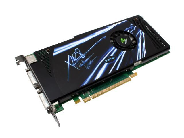 PNY VCG88512GXPB GeForce 8800GT 512MB 256-bit GDDR3 PCI Express 2.0 x16 HDCP Ready SLI Supported Video Card