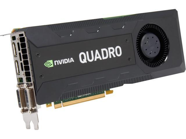 PNY Quadro K5200 VCQK5200-PB 8GB 256-bit GDDR5 PCI Express 3.0 x16 Workstation Video Card