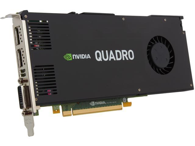 PNY Quadro K4200 VCQK4200-PB 4GB 256-bit GDDR5 PCI Express 2.0 x16 Workstation Video Card