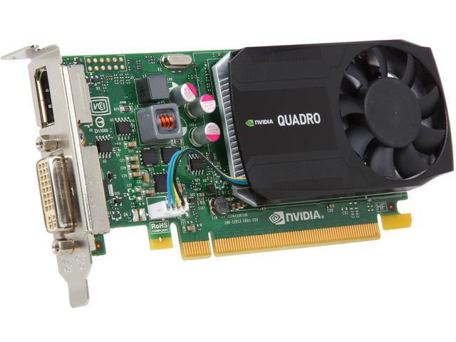 PNY Quadro K620 VCQK620-PB 2GB 128-bit DDR3 PCI Express 2.0 x16 Plug-in Card Workstation Video Card