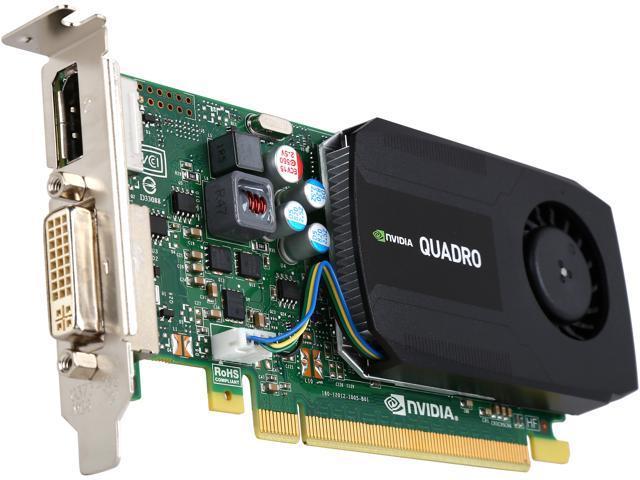 PNY Quadro K420 VCQK420-2GB-PB 2GB 128-bit DDR3 PCI Express 2.0 x16 Low Profile Workstation Video Card