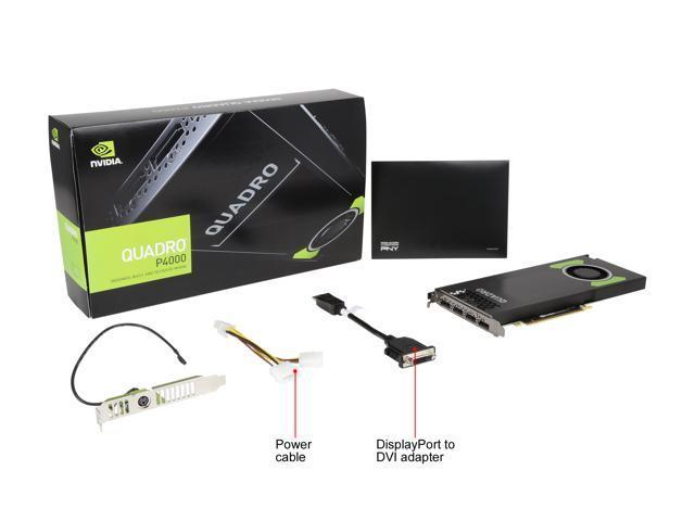 NeweggBusiness - PNY Quadro P4000 NVIDIA Quadro P4000 8GB 256-bit