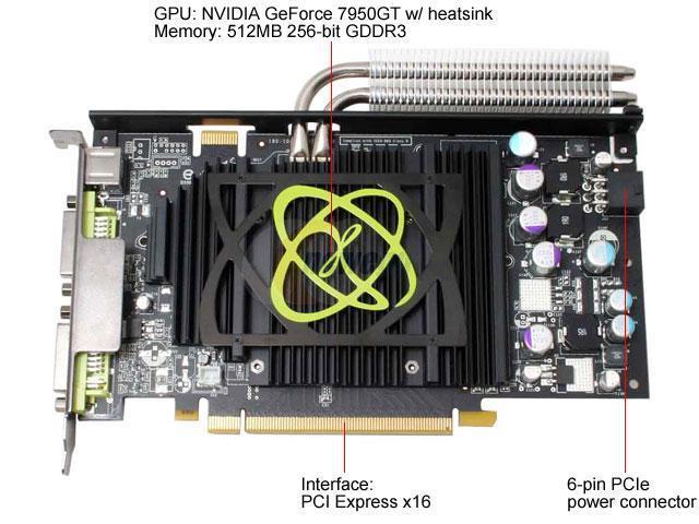 Re Video Card Upgrade Xfx Geforce 7950 Gt Extreme