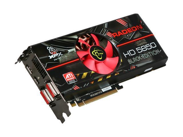 XFX Radeon HD 5850 DirectX 11 HD-585X-ZABC Video Card with Eyefinity