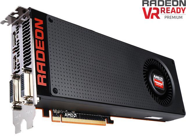 XFX Radeon R9 390X R9-390X-8VR6 8GB 512-Bit DDR5 CrossFireX Support Video Card