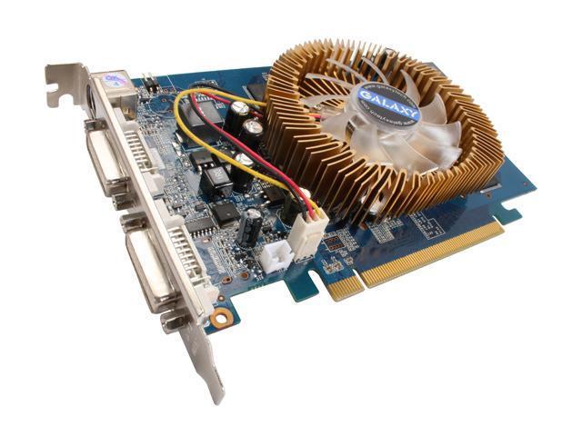 Galaxy GeForce 9500 GT DirectX 10 95TFE8HUFEXX 512MB 128-Bit GDDR2 PCI Express 2.0 x16 HDCP Ready Video Card