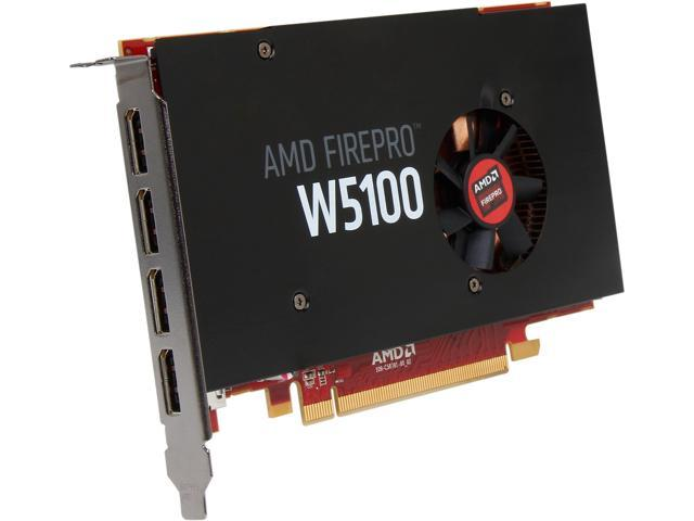 AMD FirePro W5100 100-505737 4GB 128-bit GDDR5 PCI Express 3.0 x16 Workstation Video Card