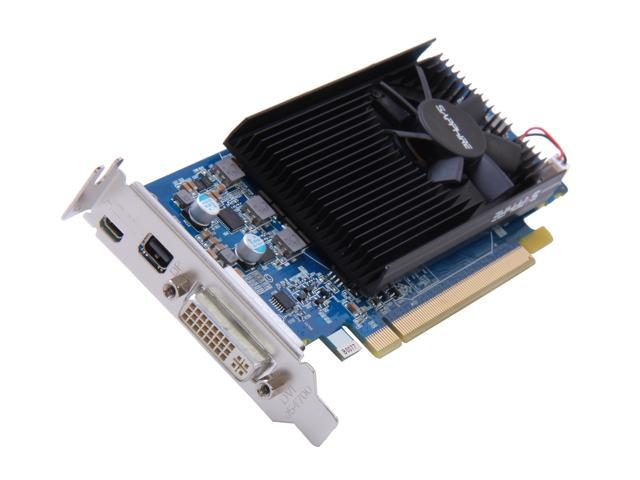 SAPPHIRE Radeon HD 7750 DirectX 11 100357LP Video Card