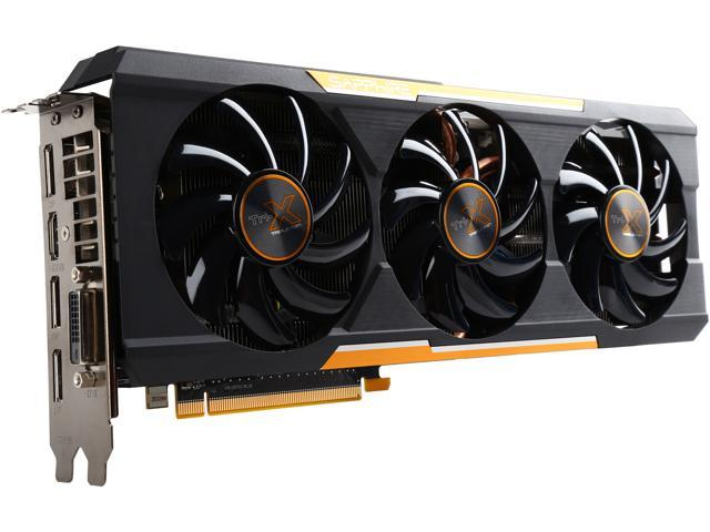 SAPPHIRE Radeon R9 390X DirectX 12 100381OCL 8GB 512-Bit GDDR5 PCI Express 3.0 2.2 Slot___ ATX Tri-X OC Version (UEFI) Video Card