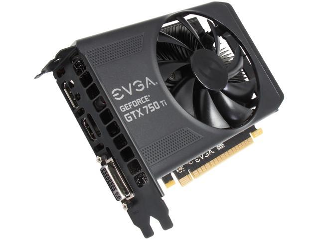 EVGA 02G-P4-3751-KR G-SYNC Support GeForce GTX 750 Ti 2GB 128-Bit GDDR5 PCI Express 3.0 Video Card