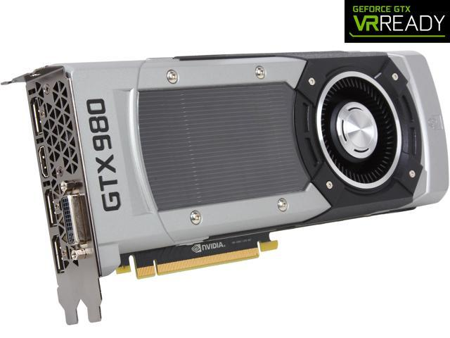 EVGA GeForce GTX 980 04G-P4-2980-KR 4GB GAMING___ Silent Cooling Graphics Card