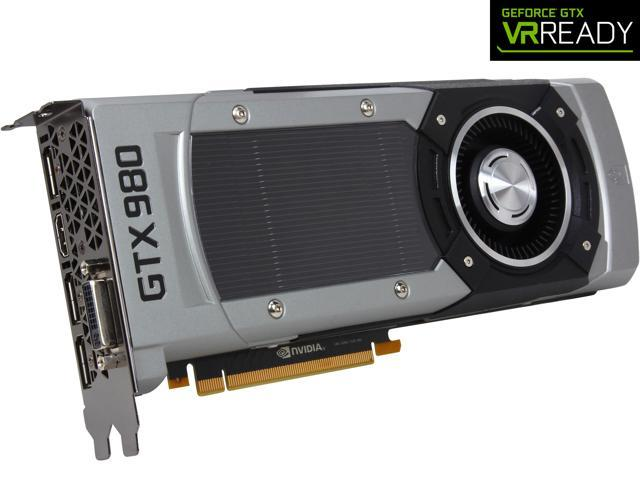 EVGA GeForce GTX 980 04G-P4-2982-KR 4GB SC GAMING___ Silent Cooling Graphics Card
