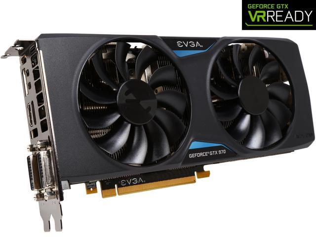 EVGA GeForce GTX 970 04G-P4-2978-KR 4GB FTW GAMING w/ACX 2.0___ Silent Cooling Graphics Card