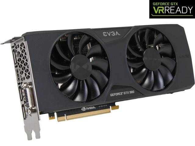 EVGA GeForce GTX 980 04G-P4-2983-KR 4GB SC GAMING w/ACX 2.0___ 26% Cooler and 36% Quieter Cooling Graphics Card