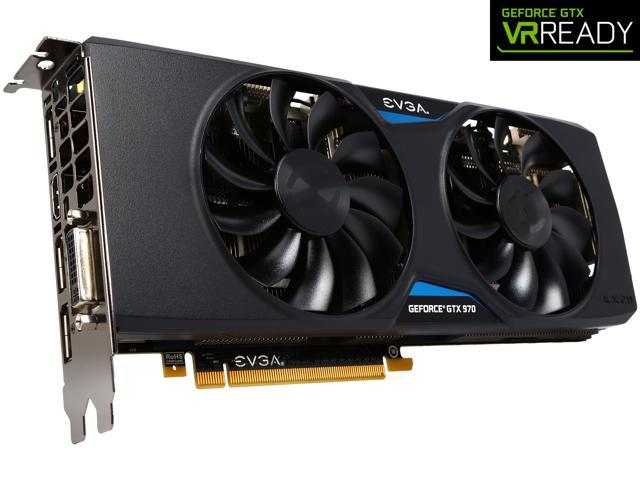 EVGA GeForce GTX 970 04G-P4-3975-KR 4GB SSC GAMING w/ACX 2.0+___ Whisper Silent Cooling Graphics Card
