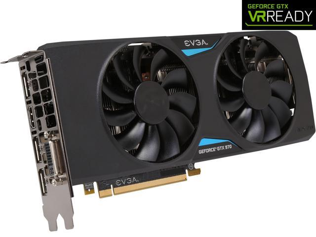 EVGA GeForce GTX 970 04G-P4-3978-KR 4GB FTW+ GAMING w/ACX 2.0+___ Whisper Silent Cooling w/ Free Installed Backplate Graphics Card