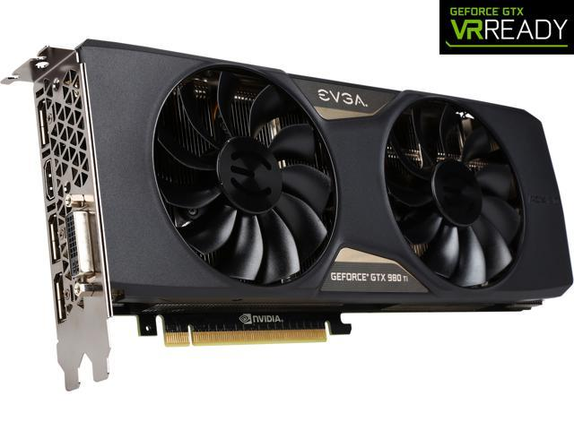 EVGA GeForce GTX 980 Ti 06G-P4-4995-KR 6GB SC+ GAMING w/ACX 2.0+___ Whisper Silent Cooling w/ Free Installed Backplate Graphics Card