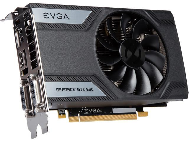 EVGA GeForce GTX 960 04G-P4-1962-KR 4GB SC GAMING___ Only 6.8 inches___ Perfect for mITX Build Graphics Card